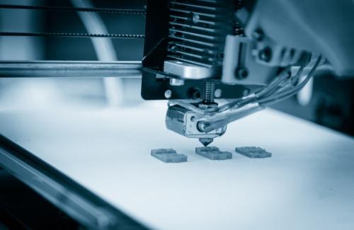3D-Druckkopf im Einsatz